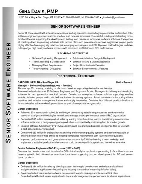 Career Objective For Resume For Freshers Software Engineers by Software Engineer Resume Objective For Freshers Images