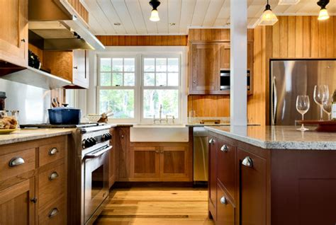 planked wood ceilings  walls   design style