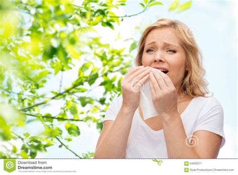 Woman Sneezing Royalty Free Stock Image Cartoondealer