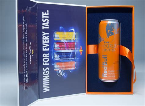 bull edition bull orange edition influencer kits the dieline packaging branding design innovation