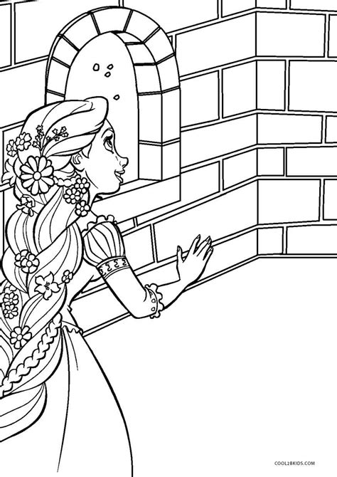 printable tangled coloring pages  kids coolbkids