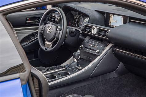 lexus rc interior lexus cars news lexus rc f gets hotted up for sema