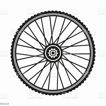 Wheel Bicycle Vector Tire Format Clip Illustration