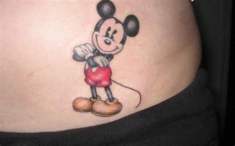 disney cartoon mickey mouse tattoos
