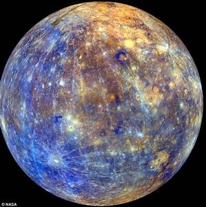 New Mercury surface composition maps illuminate the planet ...