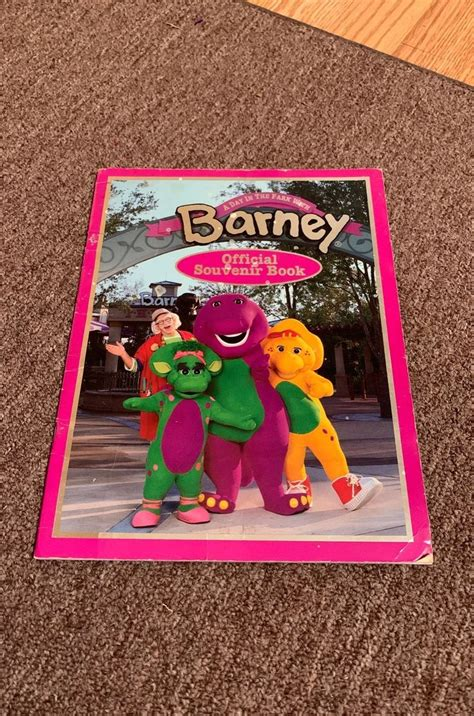 good   share official souvenir book barney  day