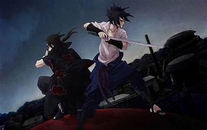 Itachi Sasuke Wallpapers Uchiha Brothers Zerochan