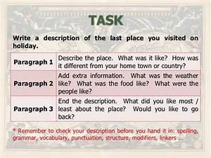 describing a place example