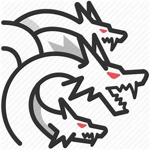 Dragon, greek, hydra, lernaean, monster, mythology icon ...