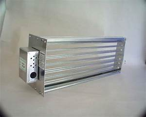 Hvac Motorized Zone Control Small Rectangular Damper