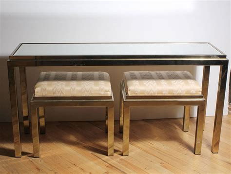 sofa table and stools unique sofa table with stools with rustic design modern