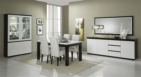 salle a manger noir et blanc laque salle manger complete blanc laque galerie avec salle a manger laque blanc pas cher images