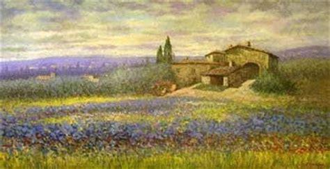 landscape oil painting tuscan landscape hotcontemporary