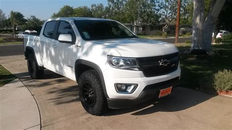 Z71 Colorado Diesel by Brand New Chevy Colorado Z71 4x4 Duramax Diesel With 265