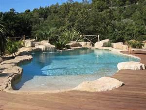Piscine Avec Cascade : piscine originale s int grant l environnement piscine ~ Premium-room.com Idées de Décoration