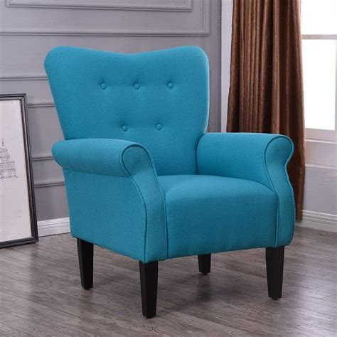 belleze living room modern wingback armchair accent chair
