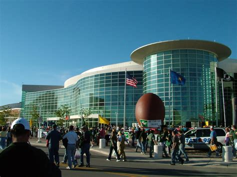 green bay wi resch center  packer game