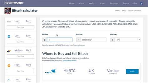 bitcoin exchange calculator bitcoin calculator convert btc to usd eur gpb and more