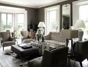 grey livingroom gray tufted sofa eclectic living room 1st option