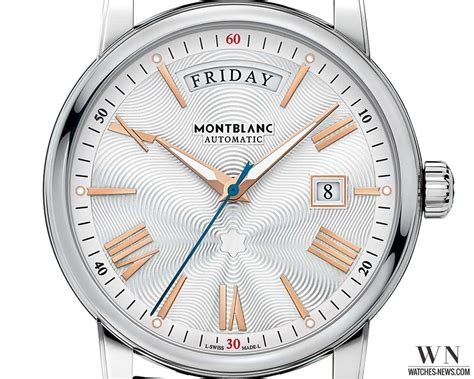 introducing the montblanc 4810 day date watches news