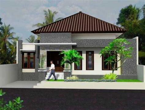 gambar tampak depan rumah minimalis lebar  meter
