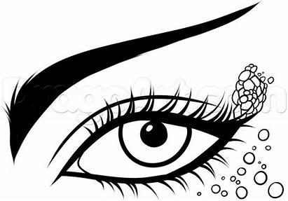 Mermaid Draw Eye Step Drawing Eyes Drawings