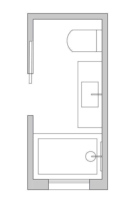 small bathroom layout ideas   architect  maximum
