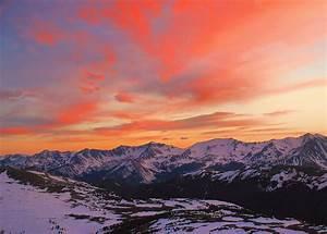 Rocky Mountain Sunset by Stephen Vecchiotti