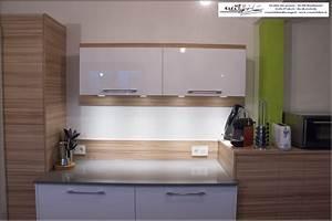 Cuisine Bois Et Blanc : cuisine blanc et bois cuisine bois et blanc laque laque ~ Dailycaller-alerts.com Idées de Décoration