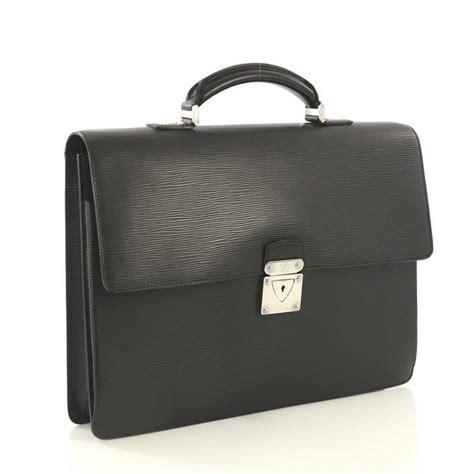 louis vuitton robusto  briefcase epi leather  stdibs