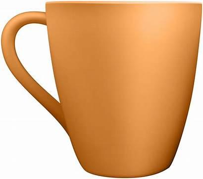 Mug Clip Ceramic Orange Clipart Clipartpng