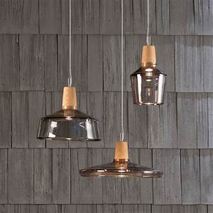 Suspension Style Industriel : suspension multiple au style industriel une lampe fabriqu e manuellement avec du bois et du ~ Teatrodelosmanantiales.com Idées de Décoration