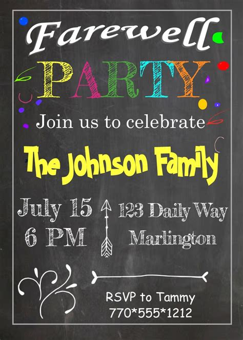 party invitations  selections summer