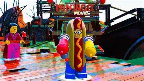The Lego Ninjago Movie Video Game Hot Dog Man Unlock
