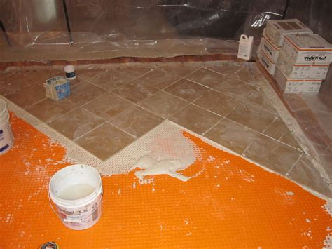 Ditra Xl Tile Underlayment by How To Install Schluter Ditra On Plywood