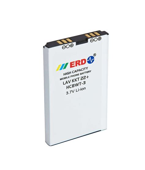 erd lithium ion mobile battery for lava kkt 22 price erd