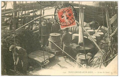 chambre des metiers boulogne sur mer 62 boulogne sur mer scène de bord 1914 marins métiers de