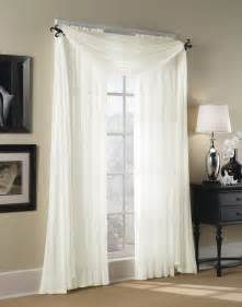 Voile Curtain Panels Uk by Hampton Sheer Voile Scarf Valance Curtainworks Com