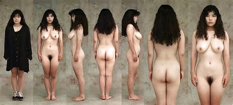 Teen Girlfriend Lined Up Dressed Undressed