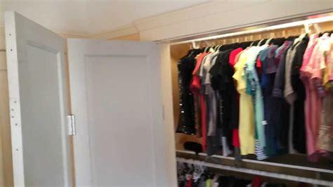 Magnetic Closet Door by Magnetic Track Closet Doors