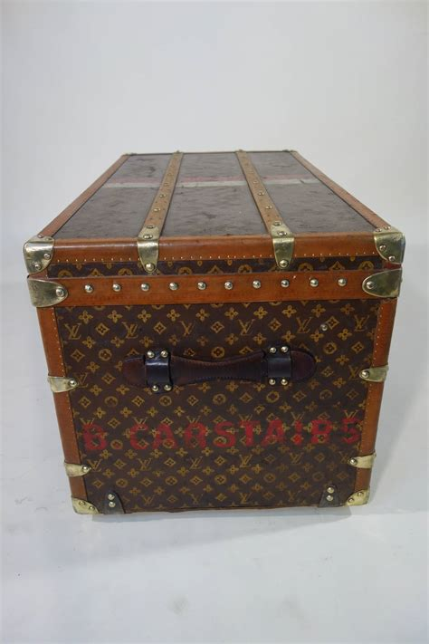 louis vuitton courrier monogram trunk malle vuitton courrier  stdibs