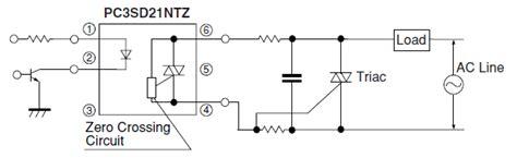 Opto Isolator How Use Phototriac Coupler Trigger