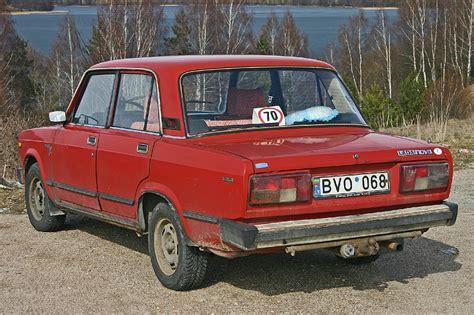 Russian Lada 2105 Nova 1200 Rear