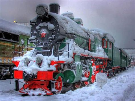 country christmas trains pinterest