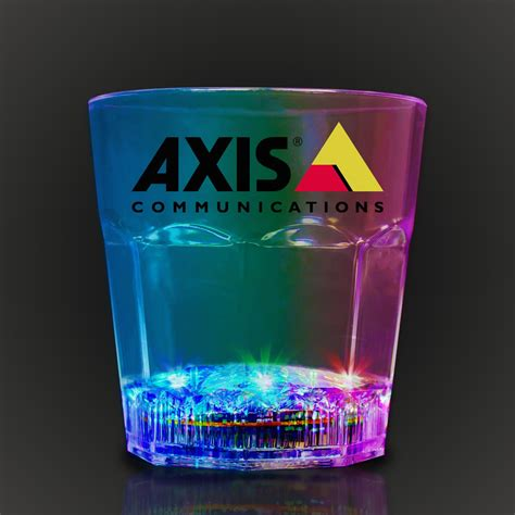 light up rocks light up rocks glass 8 ounce bar supplies drinkware
