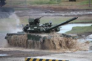 Military Vehicle Photos - T-90A main battle tank in action