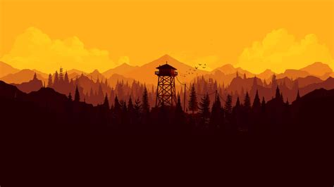 firewatch co santo wallpapers wallpaper cave
