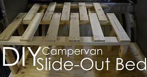 Diy Campervan Slide-out Bed