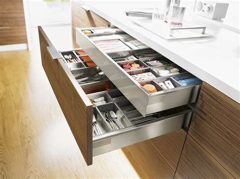 cuisine blum stainless steel drawer and inner drawer suitable for