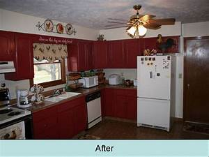 remotteling our red kitchen cabinets 1198